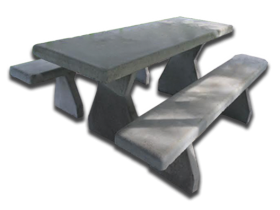 Concrete Picnic Tables