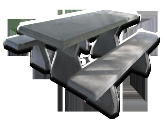 Allegiant Precast Concrete Picnic Table Image